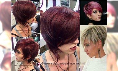 Krótkie fryzury z grzywką - modne propozycje na nowy sezon