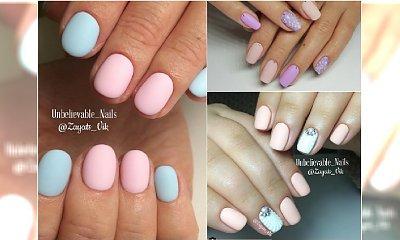 Matowe pastele to wiosenny HIT w manicure! Zobaczcie najpiękniejsze warianty