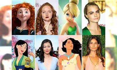 SZOK! Oto 15 modelek, które wyglądają dokładnie jak gwiazdy Disney'a! Musisz to zobaczyć!