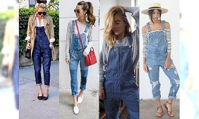 OGRODNICZKI - Spodnie, która w szafie powinna mieć każda dziewczyna kochająca luz i swobodę. Najlepsze stylizacje z sieci