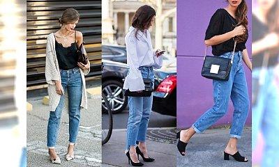 MOM JEANS - Hot trend, który powinnaś włączyć do swoich stylizacji. Przegląd najlepszych looków