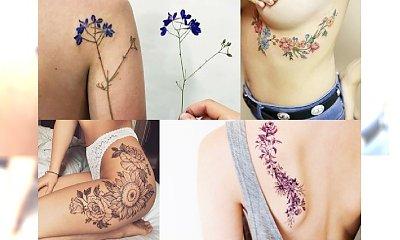 Hipnotyzujące tatuaże z kwiecistym motywem. Są przepiękne! Galeria fantastycznych inspiracji