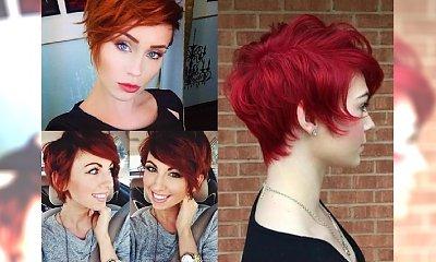 RED PIXIE CUT - opcja dla kobiet z charakterem. Galeria najpiękniejszych propozycji