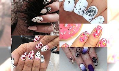 Galeria nietuzinkowych inspiracji na manicure z wzorkami, który nigdy się nie znudzi