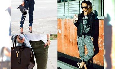 HOT TREND: Spodnie, które możesz nosić ze szpilkami i adidasami! Gwiazdy je kochają. Z czym je łączyć?