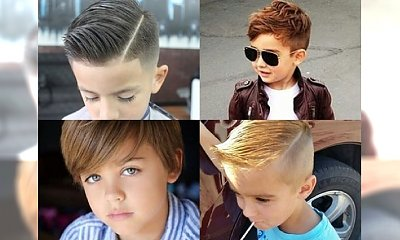 Najlepsze fryzurki dla małych przystojniaków - znajdź inspirację dla swojego dziecka