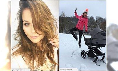 Paulina Sykut 2 miesiące po porodzie w seksownym stroju! Fani zwrócili uwagę na BIUST