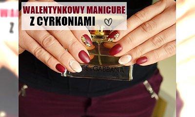 Walentynkowy manicure - piękne zdobienie specjalnie na DZIEŃ ZAKOCHANYCH (tutorial)