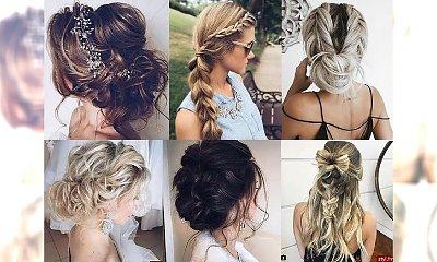 Galeria fryzurek dla półdługich i długich włosów - odkryj propozycje na uczesania na każdą okazję!