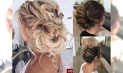 Urocze fryzury wieczorowe z długich i półdługich włosów - najlepsze inspiracje 2017!