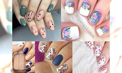 Wiosenne inspiracje manicure - duża galeria wzorków, które skradną Ci serce!
