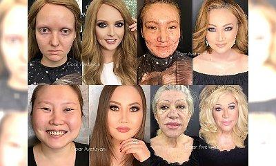 Będziecie W SZOKU! Makijaż sprawił, że wyglądają jak milion dolarów. A wcześniej...? Zobaczcie!