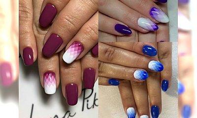 Geometryczne ombre manicure: to jest to, czego szukałyście! Jak je zrobić?