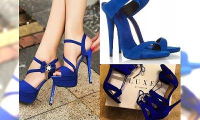 Królewski błękit: buty w tym kolorze będą hitem wiosny!