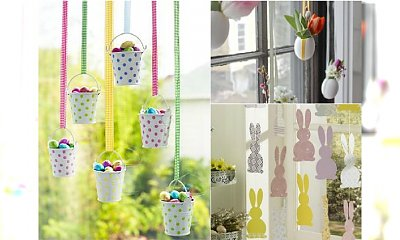 Wielkanocne dekoracje okna - pomysły na świąteczne ozdoby