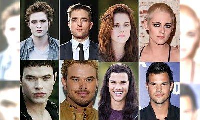 """Zobacz, jak przez 10 lat zmieniły się gwiazdy słynnej sagi """"Zmierzch""""! Kto przeszedł największą metamorfozę?"""