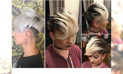 Krótkie fryzury - oryginalne, trochę alternatywne. Zobaczcie, na jakie pomysły wpadają fryzjerzy!