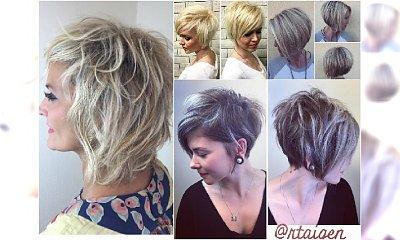 Odmładzające fryzury dla dojrzałych kobiet 40, 50 lat