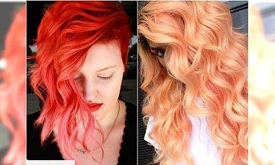 Łososiowy kolor włosów - gorący trend dla wielbicielek oryginalnych rudości
