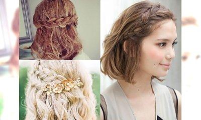 10 upięć z warkoczem, które wyglądają rewelacyjnie na krótkich włosach