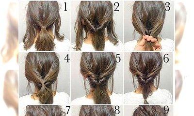 10 super prostych tutoriali na świetne upięcia krótkich włosów