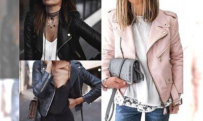Absolutny must have 2017? Skórzana kurtka! Zobacz, do czego ją nosić