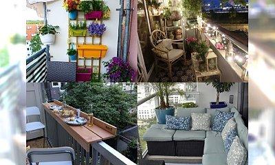 Wiosna tuż tuż - przemień swój balkon w mini taras! Najlepsze inspiracje balkonowe z sieci
