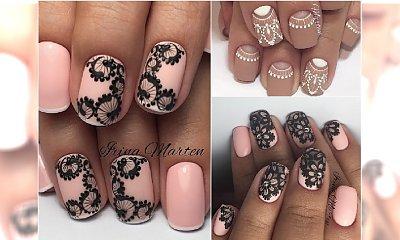 Paznokcie z koronką - wielki trend w manicure 2017. Te wzory trzeba wypróbować wiosną!