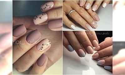 Paznokcie nude w wiosennej odsłonie. Cielisty manicure jeszcze nigdy nie wyglądał tak pięknie!