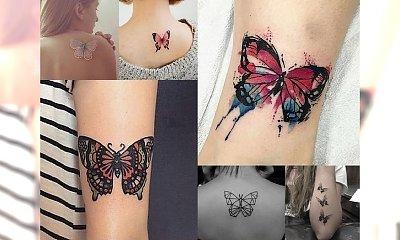 Butterfly tattoos - śliczne tatuaże z motywem motyla!