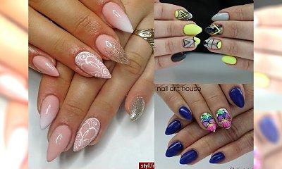 Modne inspiracje manicure - kilkanaście urzekających wzorków i odcieni!
