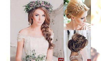 Ślubne fryzury z warkoczem - niesamowicie urocze uczesania 2017!
