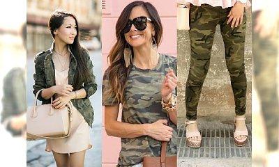 Moda 2017: Militarna zieleń i TEN KOLOR to najmodniejsze połączenie na wiosnę! Zobacz, jak je nosić
