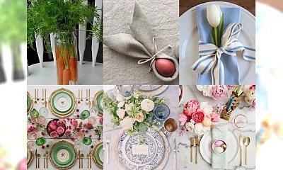 Śliczne inspiracje na udekorowanie wielkanocnego stołu - pokochacie te pomysły!