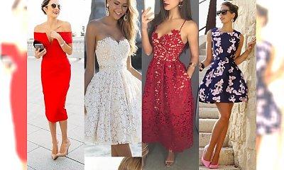 Najpiękniejsze sukienki na chrzty, komunie i wesela 2017