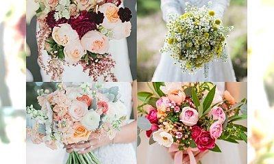 Najpiękniejsze bukiety ślubne dla panien młodych w sezonie 2017 [TRENDY]