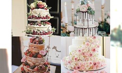 Torty ślubne, dla których warto pójść do ołtarza - PIĘKNE!