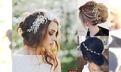 Uczesania ślubne 2017: najlepsze inspiracje na magiczne fryzurki dla Panny Młodej