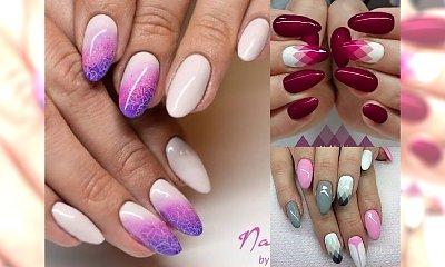 Uroczy, niesamowicie kobiecy manicure, któremu nie można się oprzeć! TRENDY 2017!