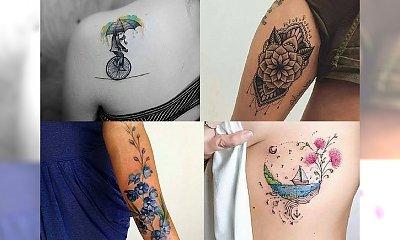 Tatuaże, które pokochały kobiety na całym świecie! TRENDY 2017!