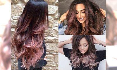 Rose hair wygląda pięknie na blondynkach, a czy pasuje do BRUNETEK? Sprawdziliśmy!