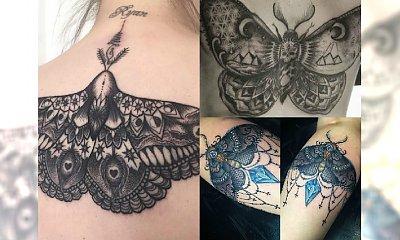 Tatuaż z motylem: myślisz: słodziutki? Nie, kiedy zobaczysz te propozycje na moth tatoo!
