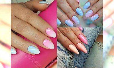 Manicure 2017: Pastelowe ombre manicure idealne na wiosnę