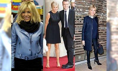 64-letnia żona prezydenta Francji wciąż budzi emocje! A jej styl? Skórzane spodnie to SZTOS