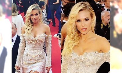 Doda na Festiwalu Filmowy w Cannes! Jej sukienko to CUDO