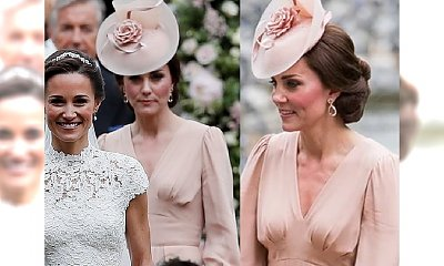 Księżna Kate ZACHWYCAŁA na ślubie siostry. Co miała na sobie?