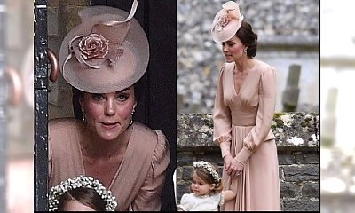 Brytyjski portal KRYTYKUJE stylizację księżnej Kate z wesela Pippy Middleton: Wyglądała STAROMODNIE