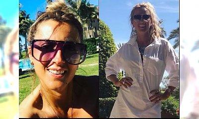 """Karolina Szostak pozuje w bikini na wakacjach i pokazuje nogi. """"Ale chudziutkie"""""""