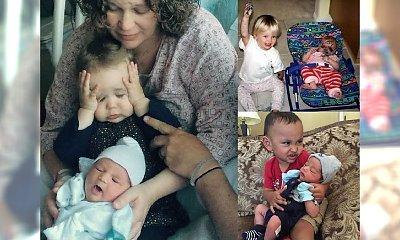Chyba posiadanie rodzeństwa nie było ich marzeniem! OHO… Ich rodzice chyba nie mają lekko!