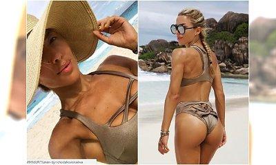 Ewa Chodakowska w stroju za ponad 1000 złotych. Fanki: Ciało super, ale to bikini... Trenerka ODGRYZŁA SIĘ internautce